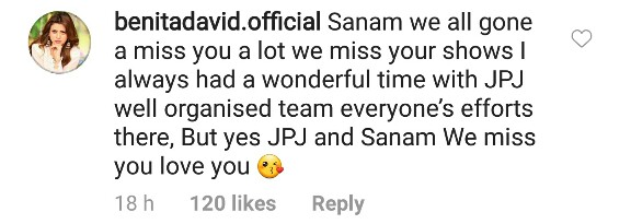 Celebrity Friends Send Wishes To Sanam Jung