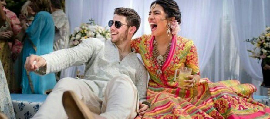 Nick Jonas And Priyanka Chopra Mehendi Pictures