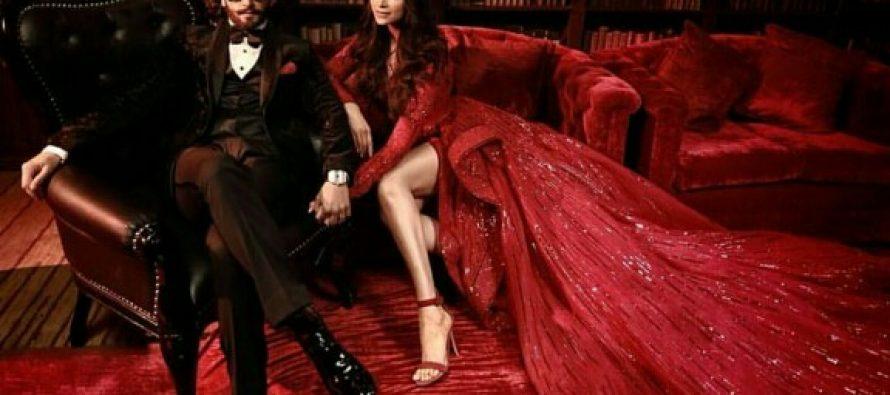 Ranveer Singh And Deepika Padukone's Final Reception