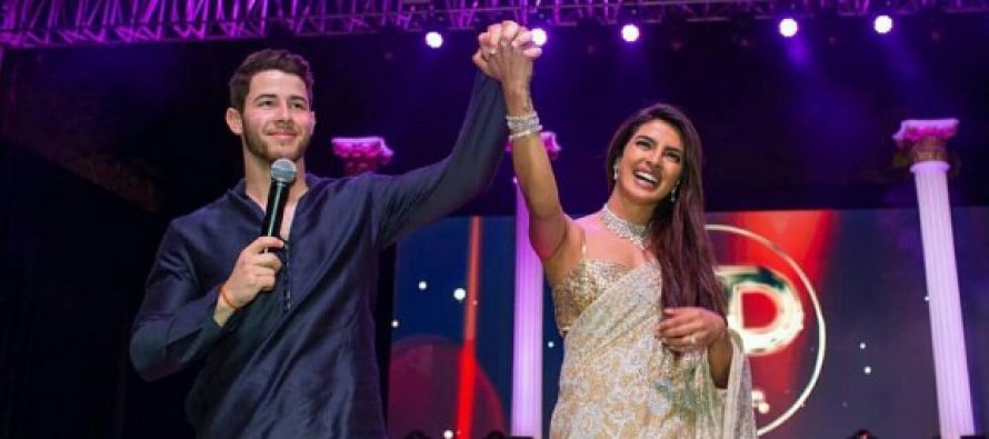 Priyanka Chopra And Nick Jonas's Sangeet Ceremony