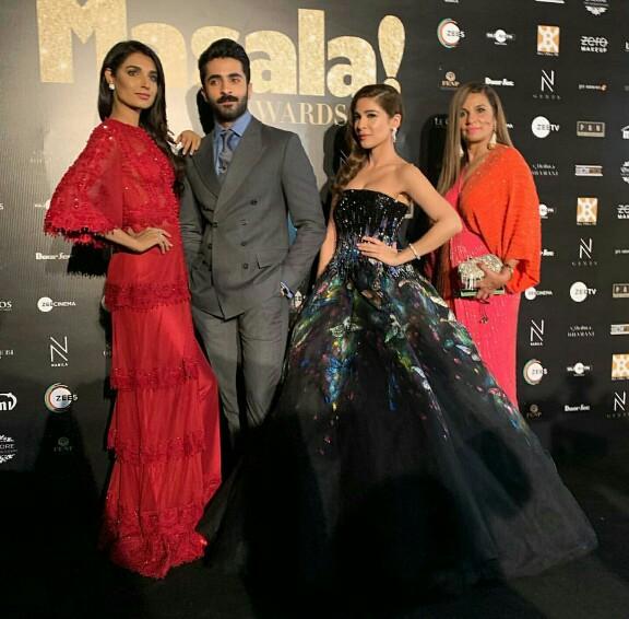 Pakistani Celebs Shine At Masala Awards 2018