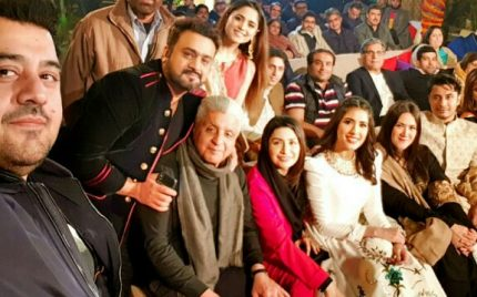Celebrites Attend The New Year Virsa Night