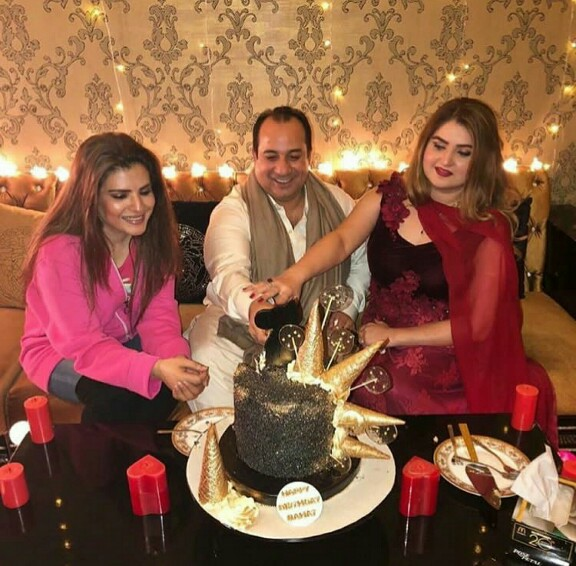 RFAK Celebrates Birthday With Wife And Resham