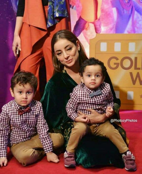 Sarwat Gilani's Super Cute Family