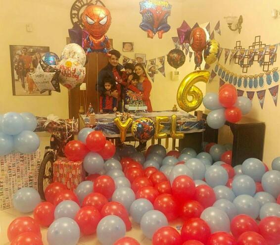 Syed Jibran Celebrates Son's 6th Birthday