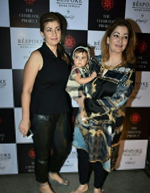 Adnan Sami With Wife And Daughter
