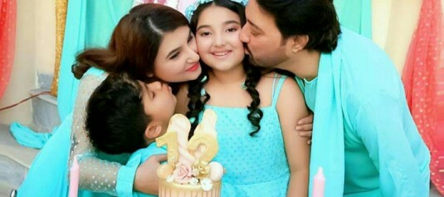 Saud And Javeria Celebrate Daughter's Birthday