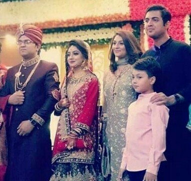 Iqrar Ul Hassan Attended Wedding With First Wife And Son