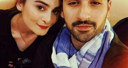 Aiman Khan And Muneeb Butt Leave For Honeymoon