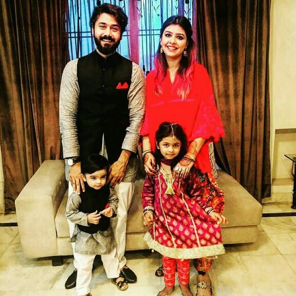 Ali Abbas Has A Beautiful Family