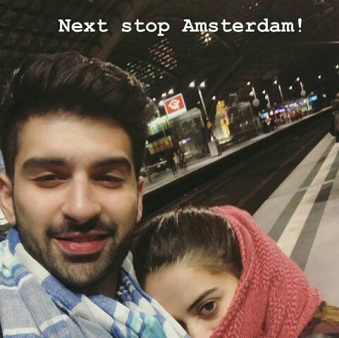 Aiman Khan And Muneeb Butt In Netherlands
