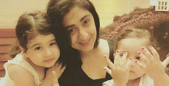 Madiha Rizvi's Latest Clicks With Beautiful Daughters