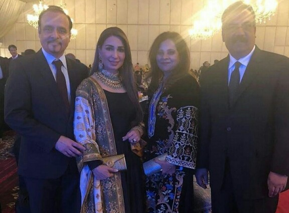 Reema Khan With Husband Dr. Tariq Shahab