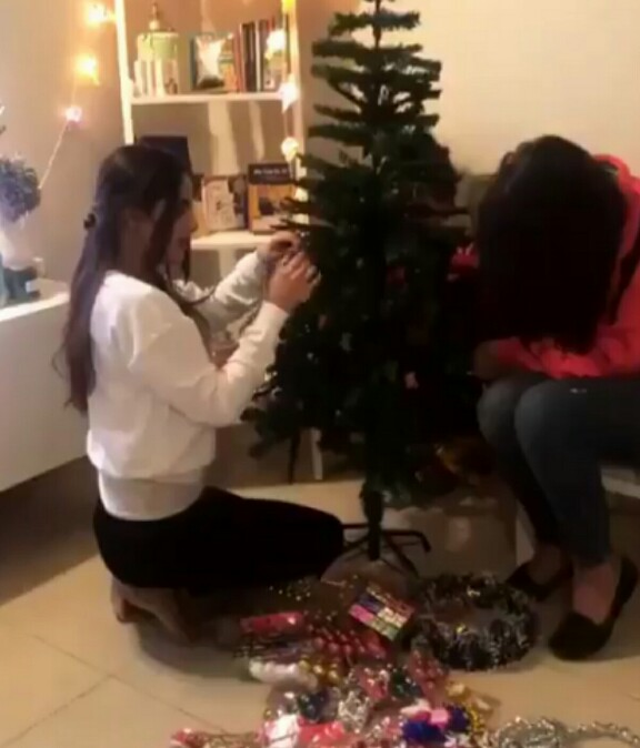 Image result for SABOOR ALY CELEBRATING CHRISTMAS