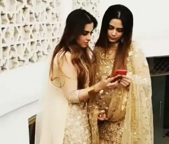 Aima Baig At Her Sister's Wedding
