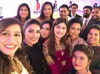 Ayeza Khan Attends Her Friend's Wedding