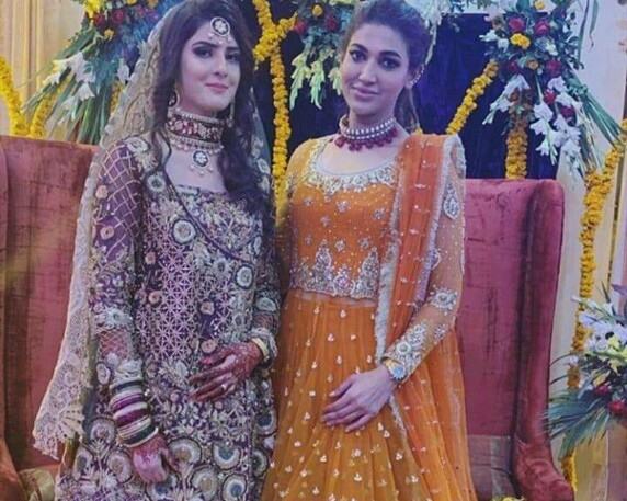 Sana Fakhar Looks Like A Million Bucks At Her Brother In Law's Wedding