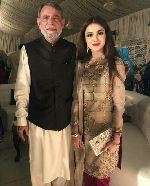 Aamir Liaquat Attends Family Wedding With Wife Tuba