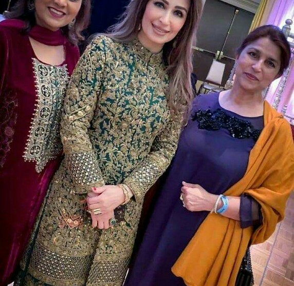Old Lollywood Gathers For Ghulam Mohiuddin's Son's Wedding