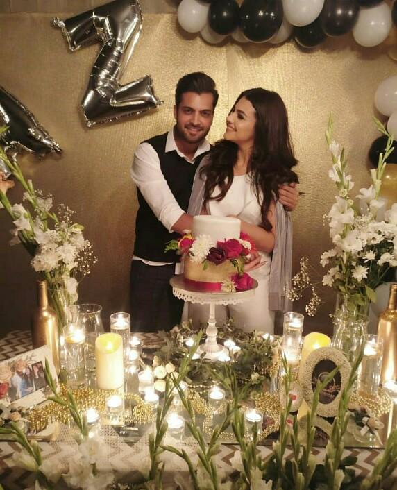 Asad Siddiqui And Zara Noor Abbas Celebrate First Wedding Anniversary