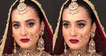 Aiman Khan's Hairstyle Under Severe Criticism
