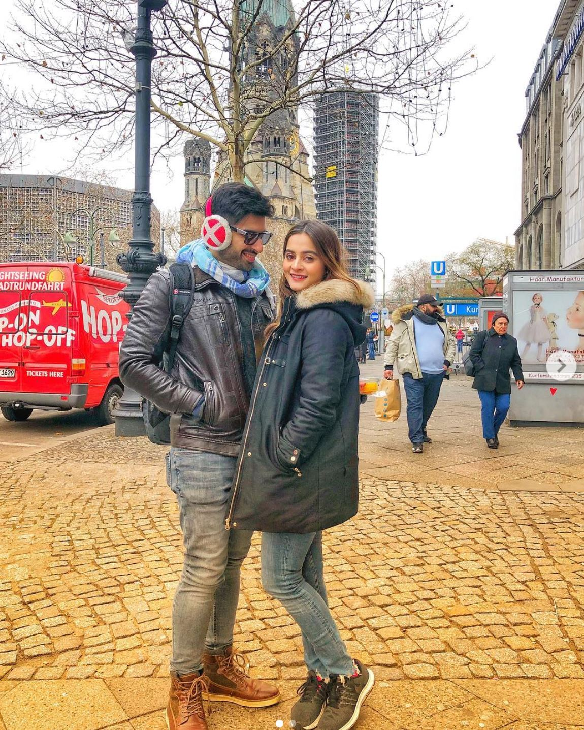 Viral News From Germany: Aiman And Muneeb Shared Their Honeymoon Pictures