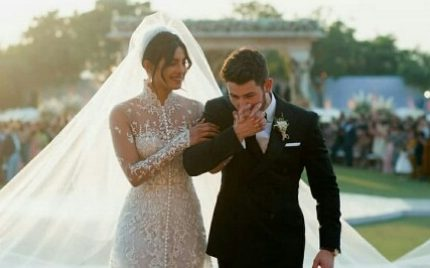 Priyanka Chopra And Nick Jonas's White Wedding-Pictures