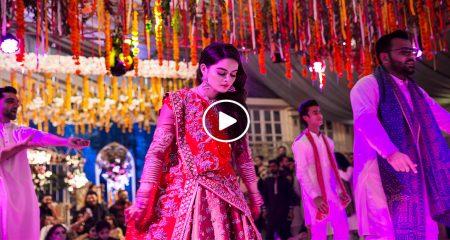 Minal Khan Performed On Aineeb Mehndi
