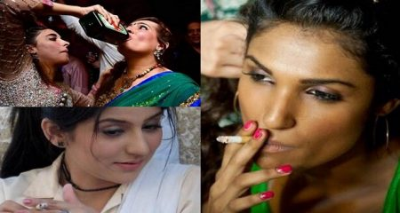 Pakistani Female Celebrities Who Smoke and Drink