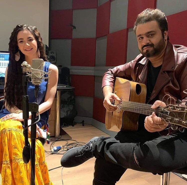Hania Aamir Steps Into The World Of Singing