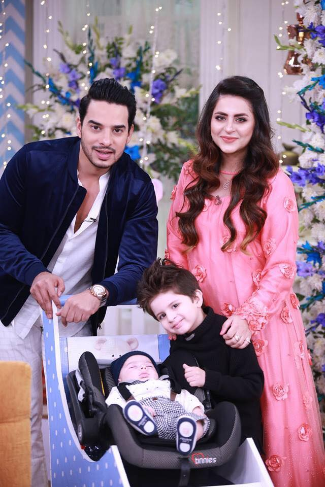 Fatima Effendi and Kanwar Arsalan With Kids - Latest Pictures