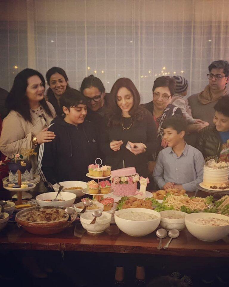 Juggan Kazim's Birthday Pictures