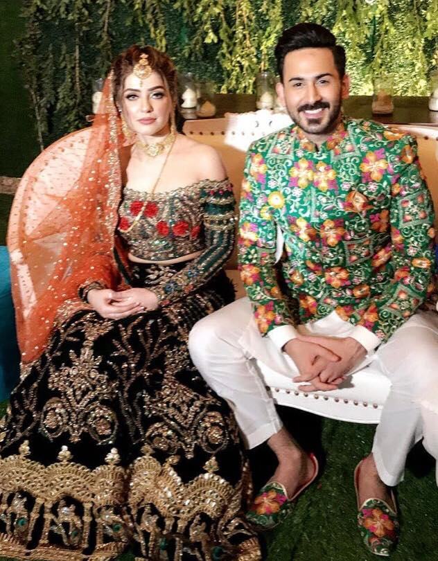 Shan Baig's Mehndi Pictures