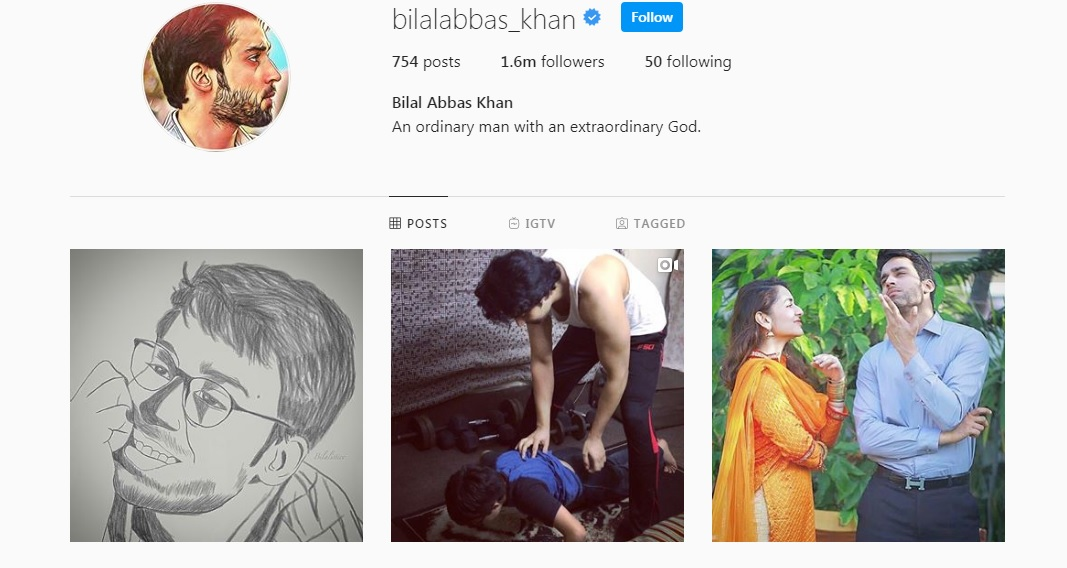 Bilal Abbas Instagram 1