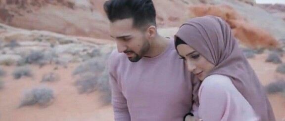 Mr And Mrs Sham Idrees Twin In Mauves