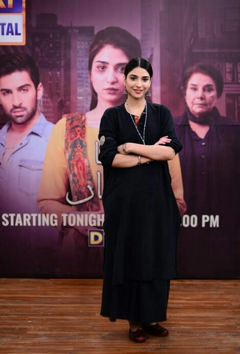 Muneeb Butt And Ramsha Khan Promote New Show