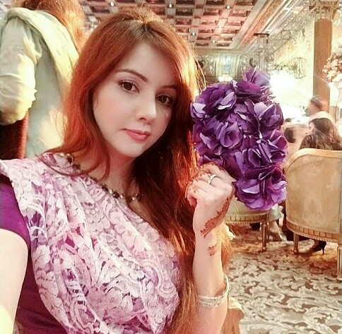 Rabi Pirzada Is Also Enjoying Wedding Season