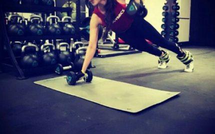 Faryal Mehmood Is Rocking Her Gym Game