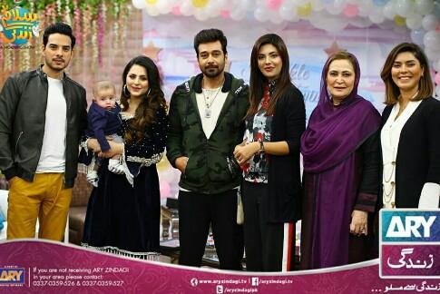Fatima And Kanwar With Mahbir At Salam Zindagi