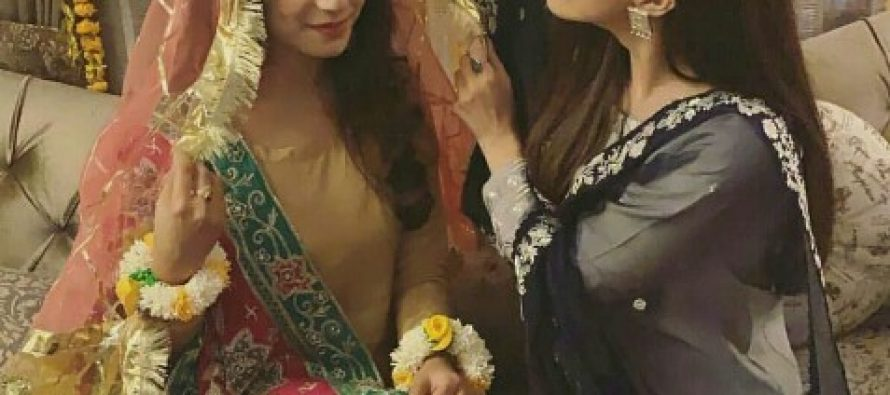 Maya Ali Enjoyed Her Cousin's Mayun