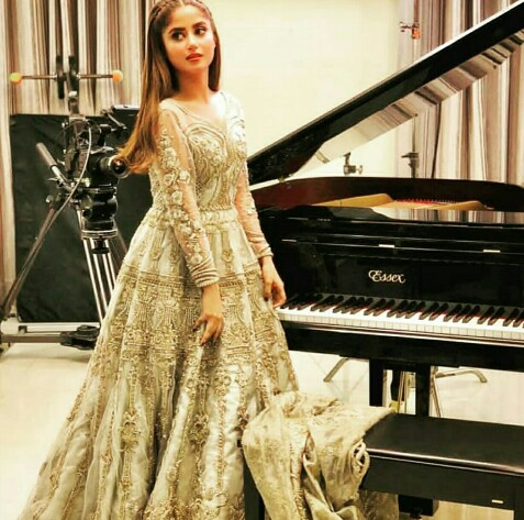 Sajal Aly Shines In Latest Shoot Wearing SFK Bridals