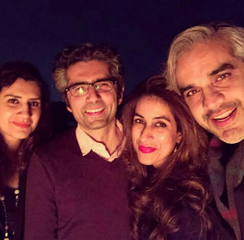 Omair Rana's Beautiful Family-Pictures
