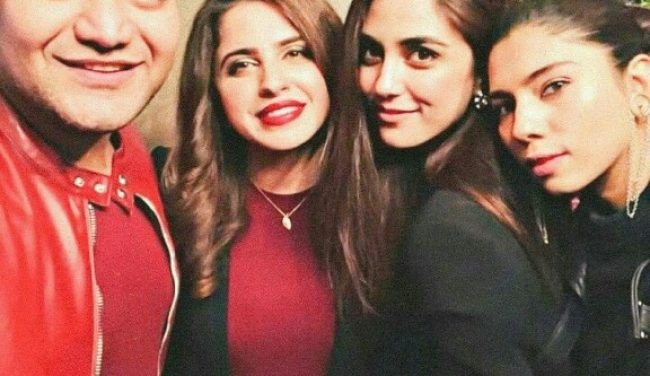Maya Ali Is All Dolled Up For Faiza Saqlain's Birthday