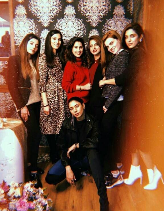 Maya Ali Is All Dolled Up For Faiza Saqlain's Birthday
