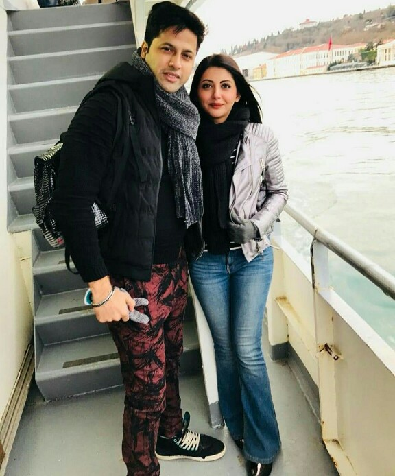 Actress Momal Khalid Vacaying With Husband