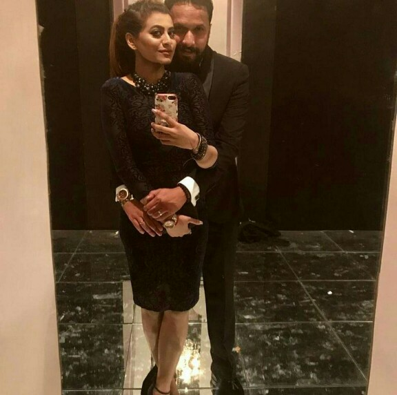 Benita David With Her Husband-Pictures