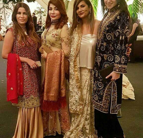 Freiha Altaf Spotted At A Wedding