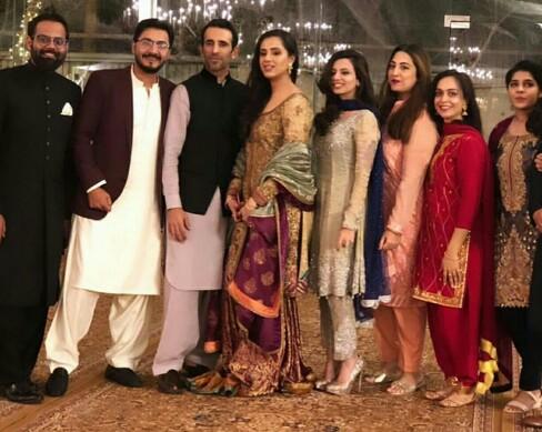 Maham Aamir Attended A Friend's Wedding