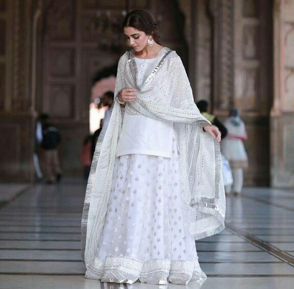 Maya Ali Stuns In White At A Nikkah Ceremony