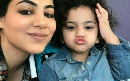 Annie Khalid With Her Cute Little Girl